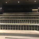 Movie theatre under construction